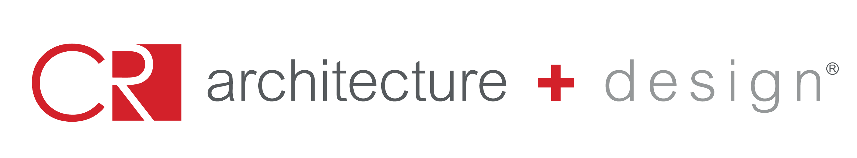 CR architecture + design logo