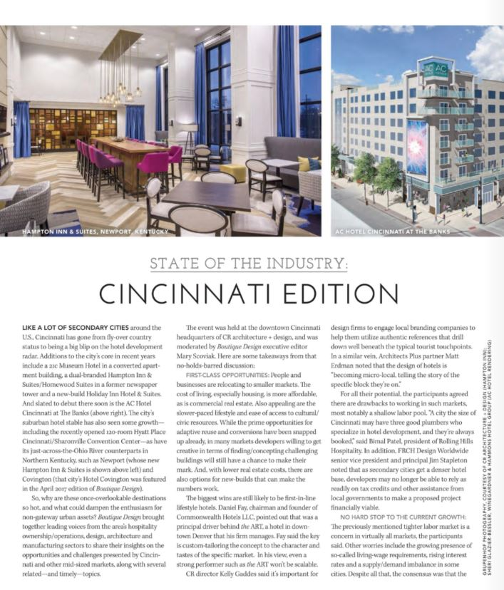 Boutique Design Article - State of The Industry: Cincinnati Edition