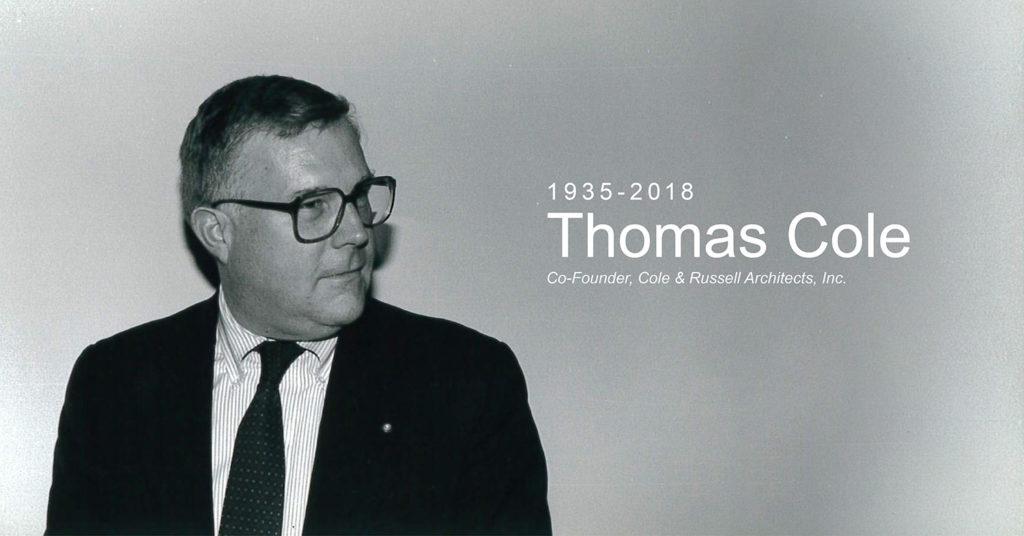 Thomas Cole, 1935-2018