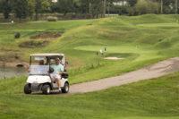 Golf Cart on Course thumbnail