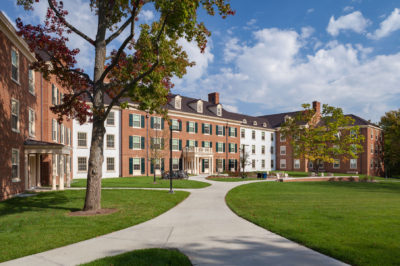 Renovated Miami University Residence Hall