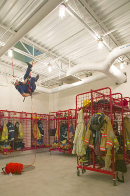 Rapelling, Kalispell Fire No. 62